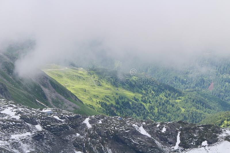 Kitzsteinhorn, Austria royalty free stock images