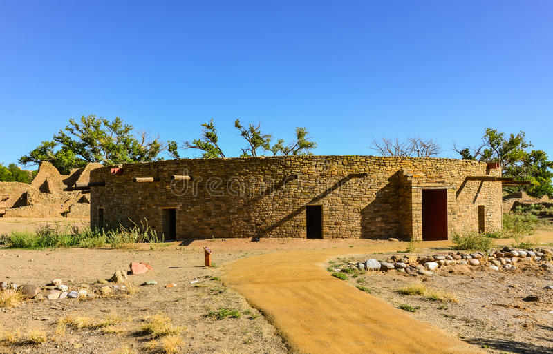 Kiva - Aztec Ruins National Monument - Aztec, NM royalty free stock image