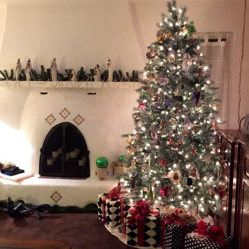 Kiva Christmas image libre de droits