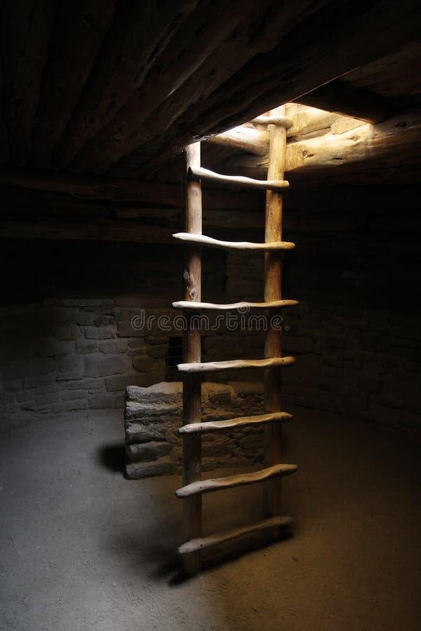Kiva Ladder royalty free stock photo