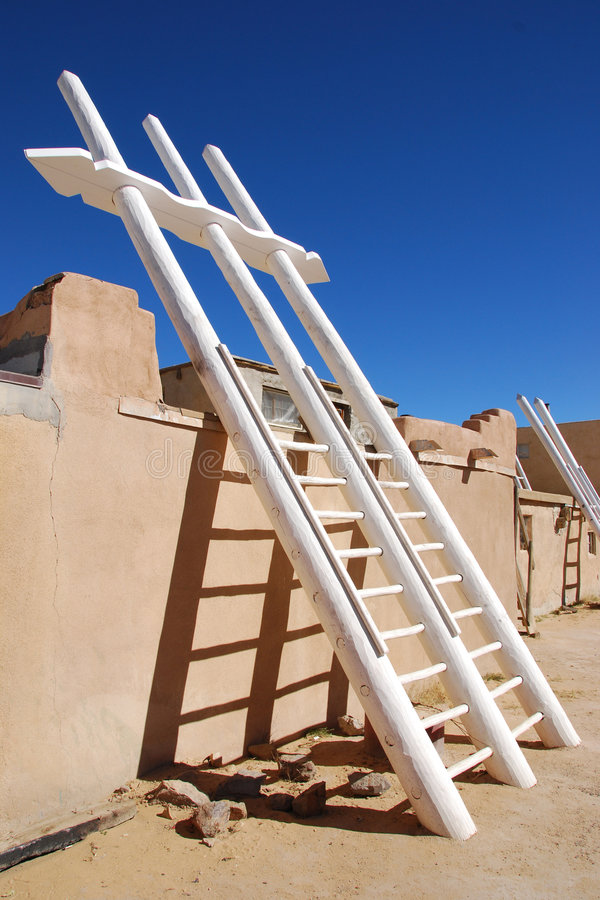 Download Kiva ladder stock image. Image of adobe, kiva, mexico - 8479979
