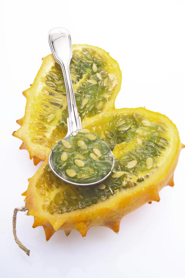 Free Kiwano, Cut-out, White Background Stock Photography - 50481282
