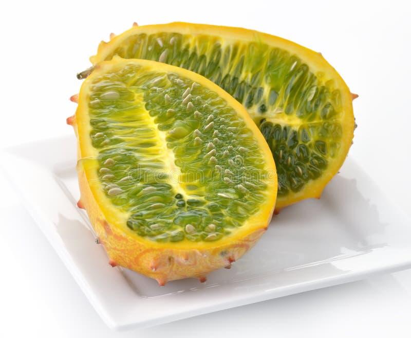 kiwano melon obraz royalty free