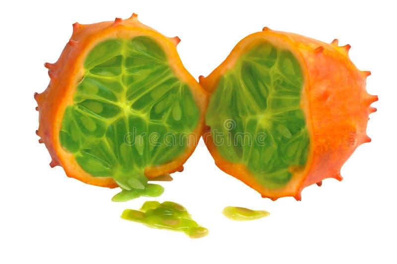Kiwano owoc obraz stock