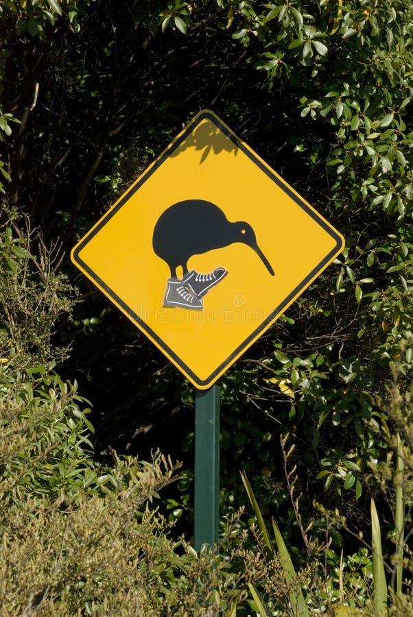 Kiwiüberfahrt stockfotografie