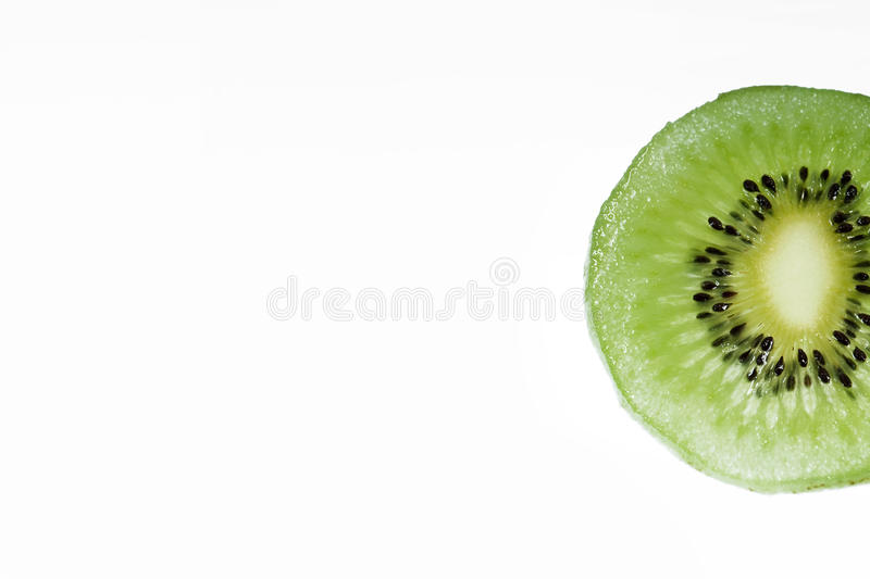 Kiwi. In a white background (Backgroud space can do some design stock images