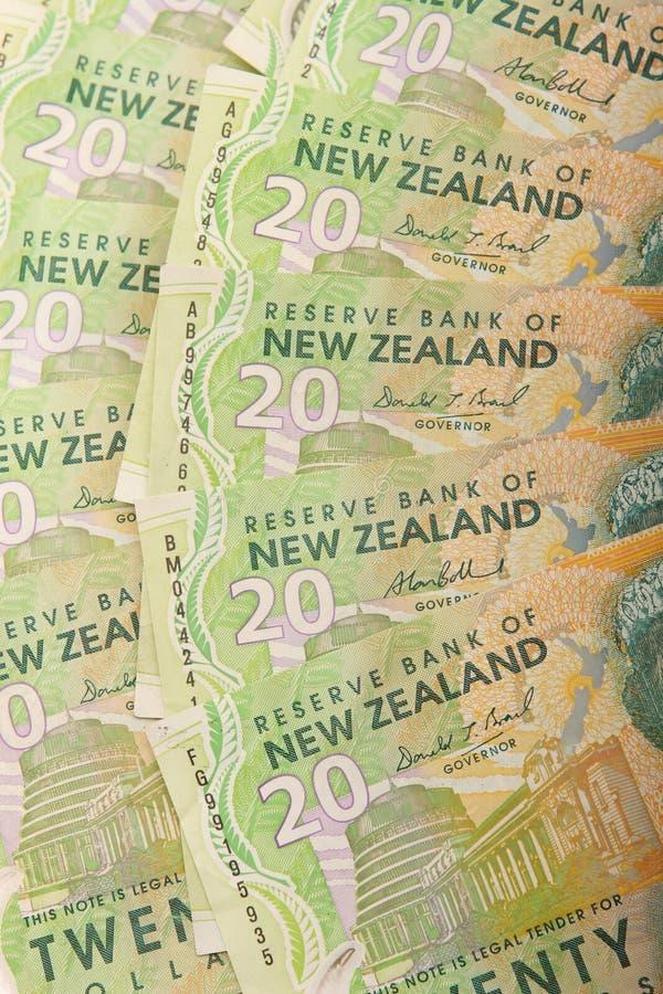 Kiwi $20 bills stock images