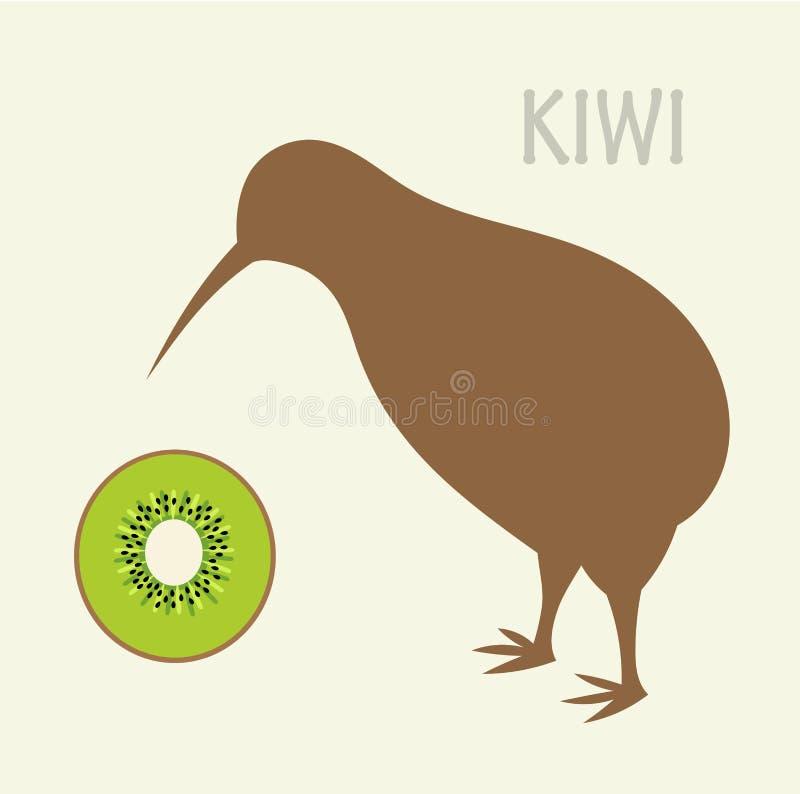Kiwi royalty-vrije illustratie