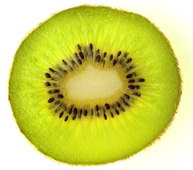Kiwi. Fruit, isolated, with backlight stock images