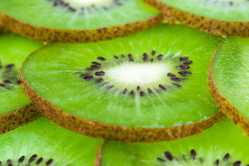 Download Kiwi cut by segments stock image. Image of sliced, diet - 40105929