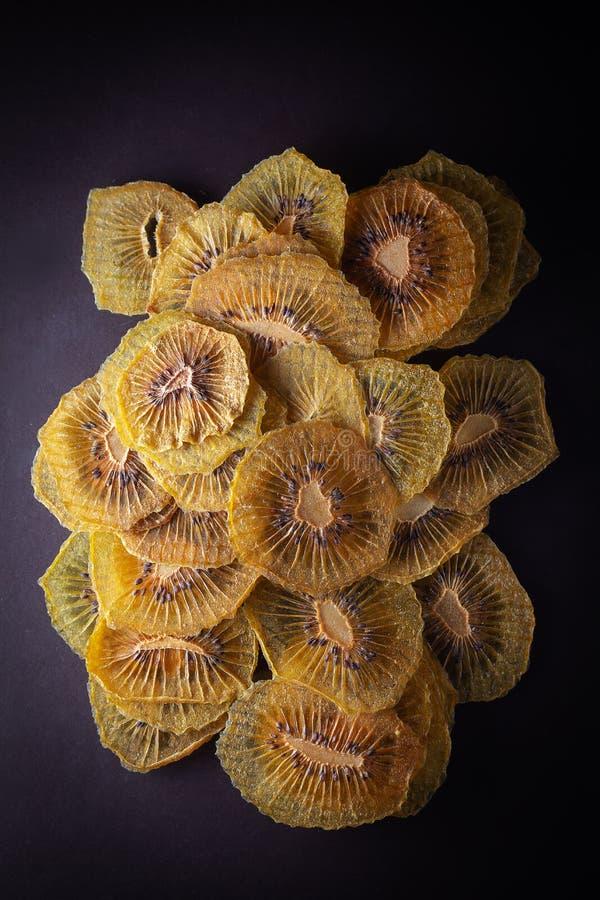 Kiwi Dried Slices stock photos