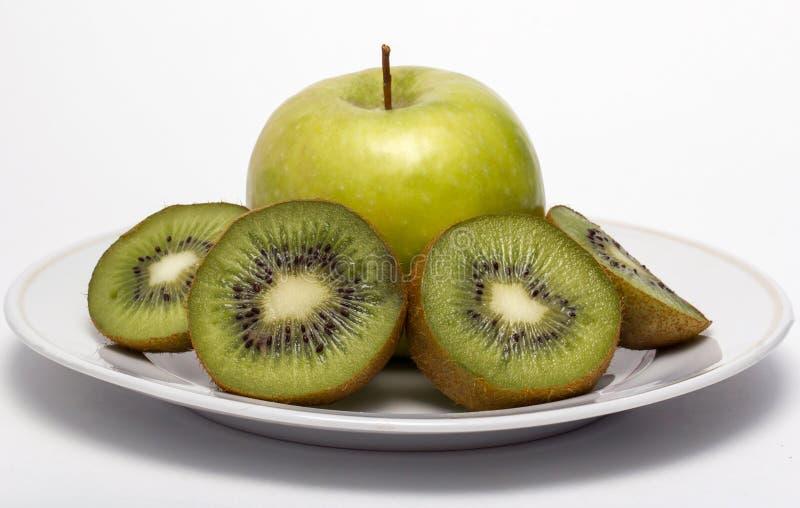 Download Kiwi fruit and apple stock image. Image of kiwi, eating - 29216423