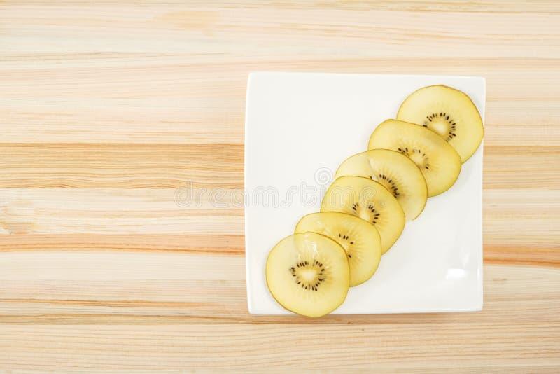 Kiwi fruit arranged in a dish. Shooting location :  Yokohama-city kanagawa prefecture stock photos
