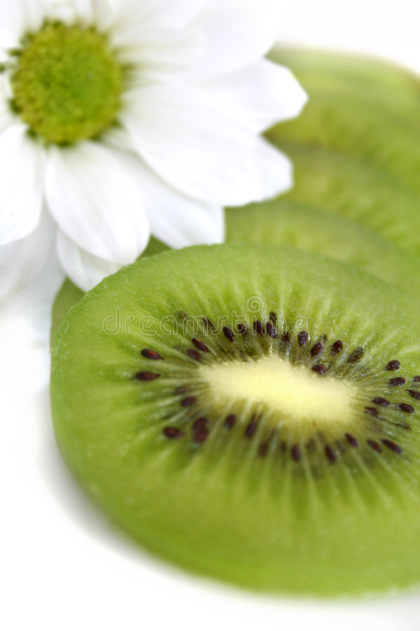 Kiwi fruit close-up royalty free stock images