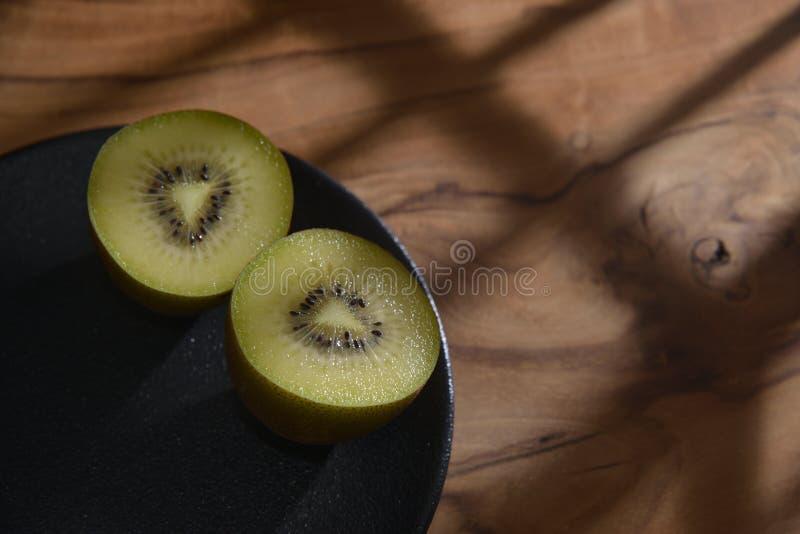 Kiwi Fruit Macro imagen de archivo libre de regalías