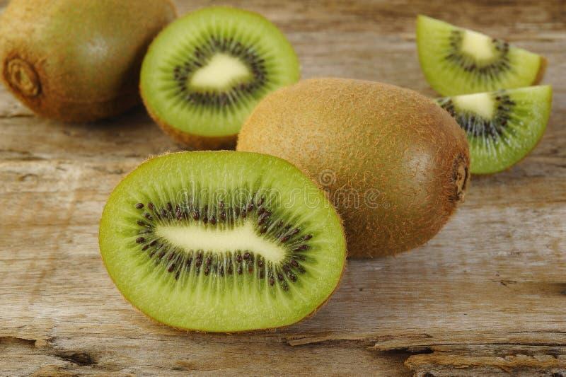 Kiwi fruit sliced royalty free stock photo