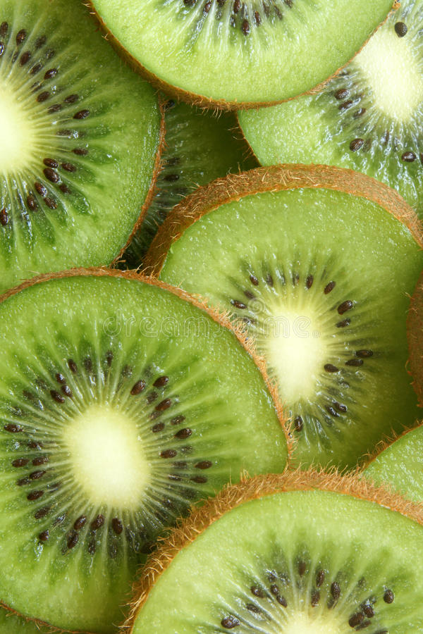 Download Kiwi fruit slices stock image. Image of closeup, close - 14295577