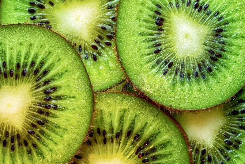 Kiwi. Fruit slices for background royalty free stock image