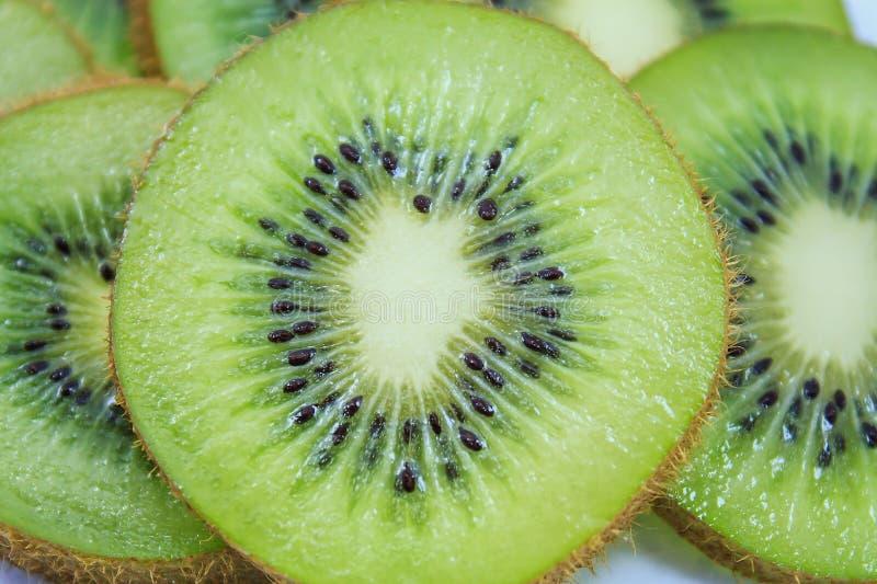 Kiwi fruit slices background. Beautiful kiwi fruit slices background stock image