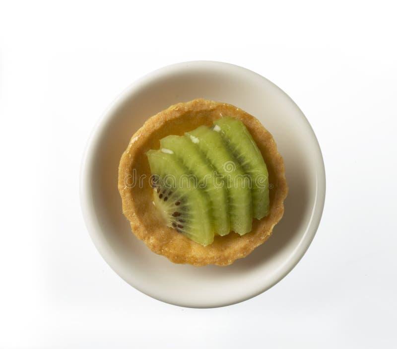 Kiwi Fruit Tart Royalty Free Stock Images