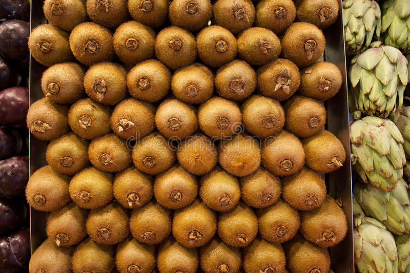 Download Kiwi Fruits foto de archivo. Imagen de tropical, refresco - 42432542