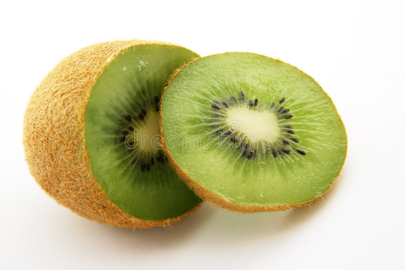 Download Kiwi Isolated on White stock photo. Image of green, foods - 173290