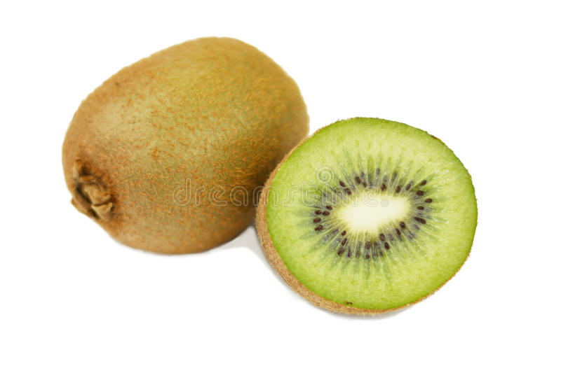 Kiwi isolated. On white background royalty free stock photos