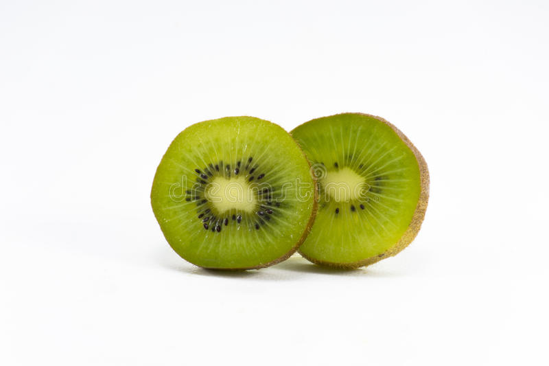 Kiwi isolated on white background.Fruit for health and Hi-vitamin stock photography