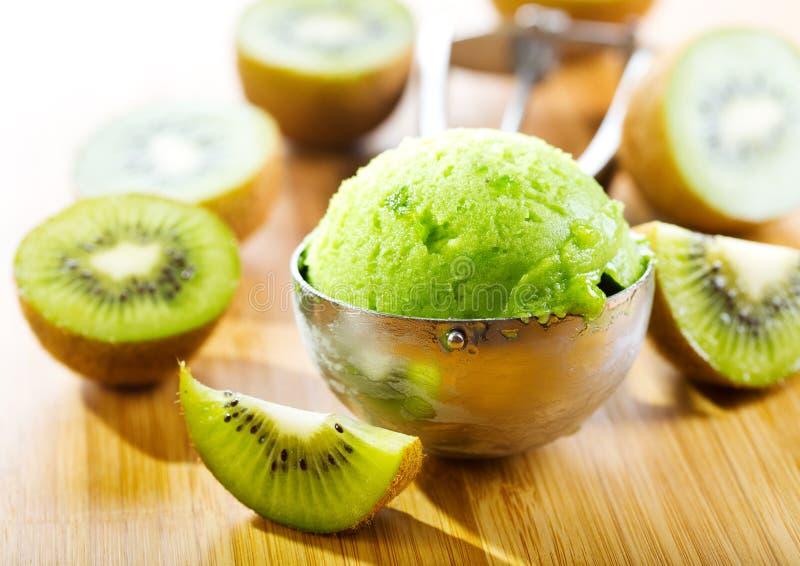Kiwi lody zdjęcia stock