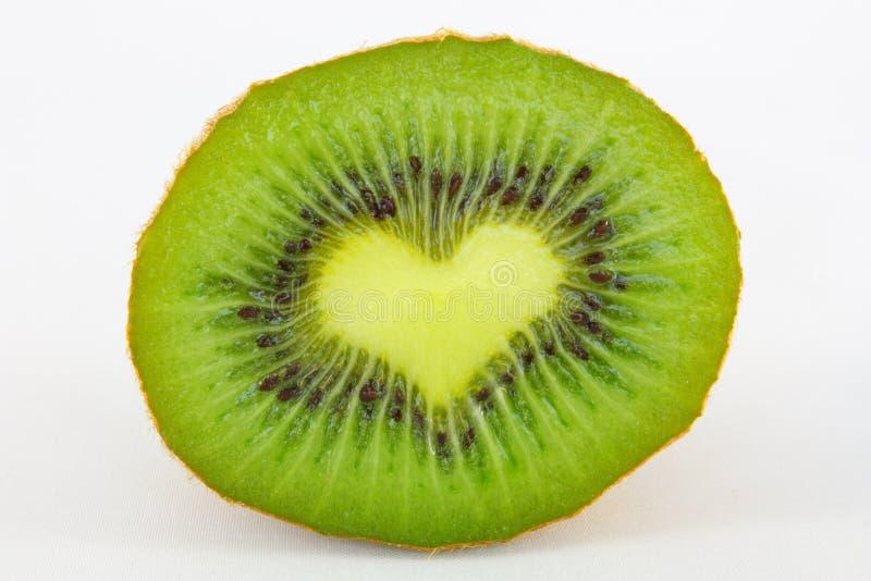 Kiwi-love2 fotografia stock libera da diritti