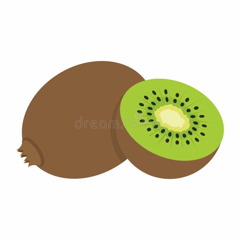 Free Kiwi On White Background Royalty Free Stock Image - 82705106