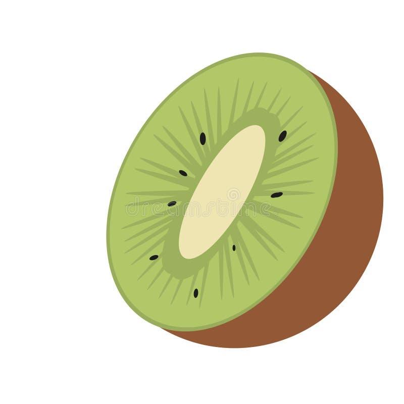 Kiwi owoc świeża żywność ilustracji