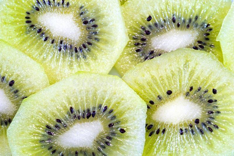 Kiwi owoc Makro- zdjęcie stock