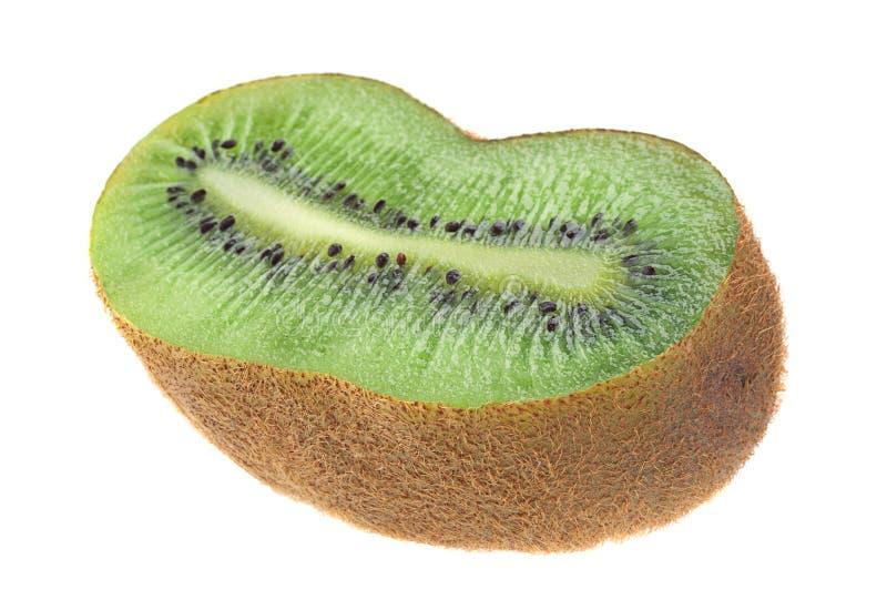 Kiwi på vit arkivfoto