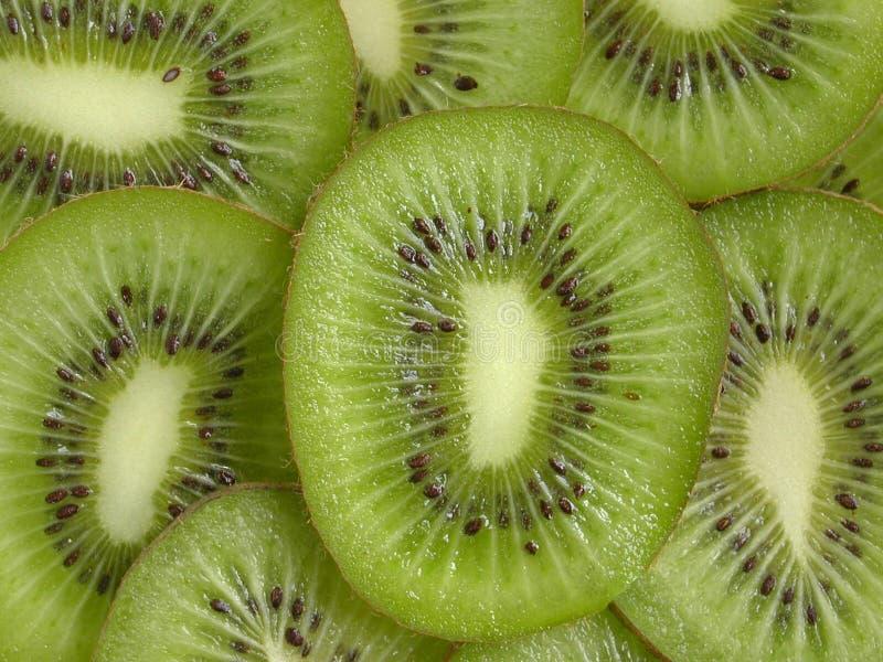 Kiwi-Scheiben lizenzfreies stockfoto