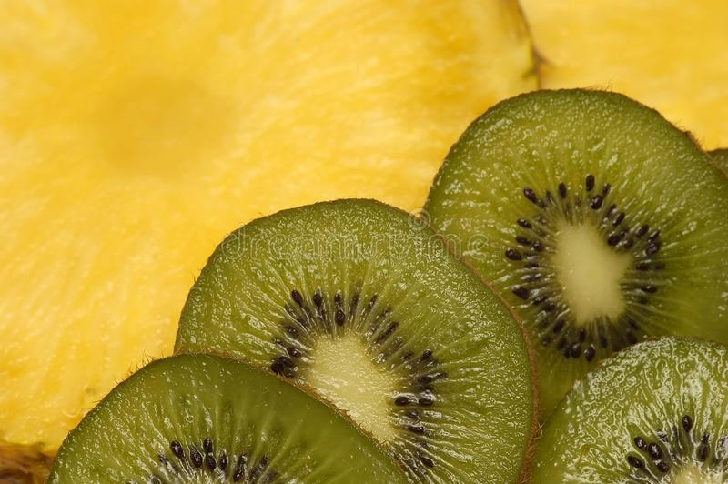 Kiwi Slices Free Stock Photography