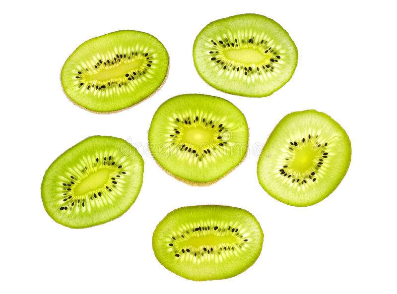 Download Kiwi slices stock image. Image of tropical, sunny, food - 8295829