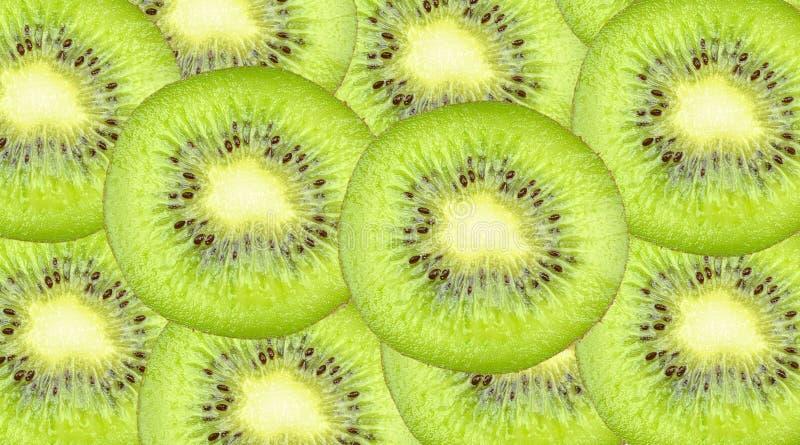 Kiwi slices. Fresh Kiwi slices for background stock photography