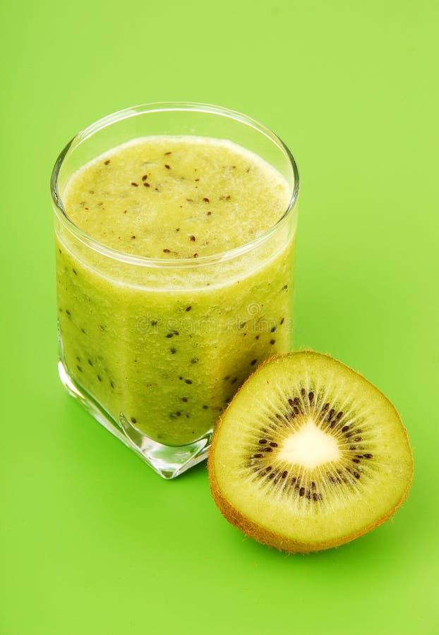 Kiwi smoothie royalty-vrije stock afbeelding