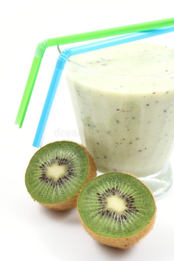 Kiwi Smoothie lizenzfreies stockbild