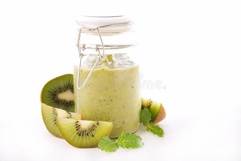 Kiwi Smoothie imagens de stock