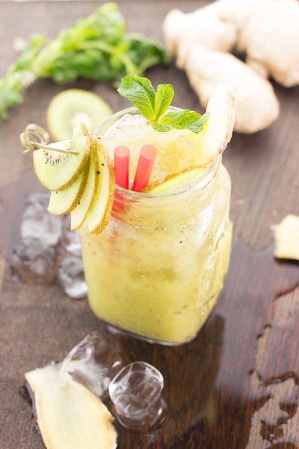 Kiwi smoothie. royalty free stock photography