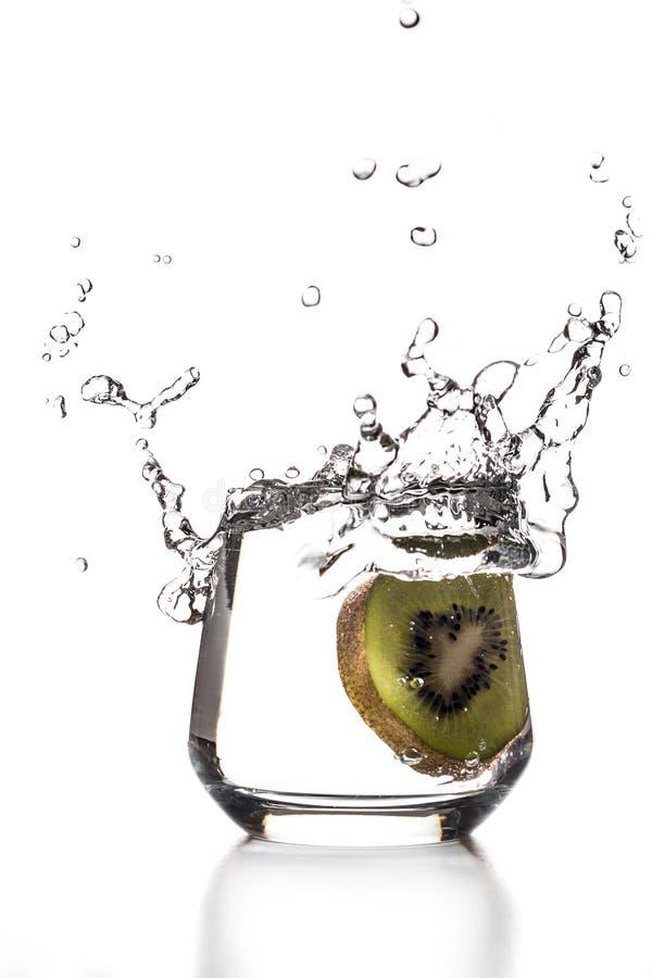 Kiwi Splash royaltyfri bild