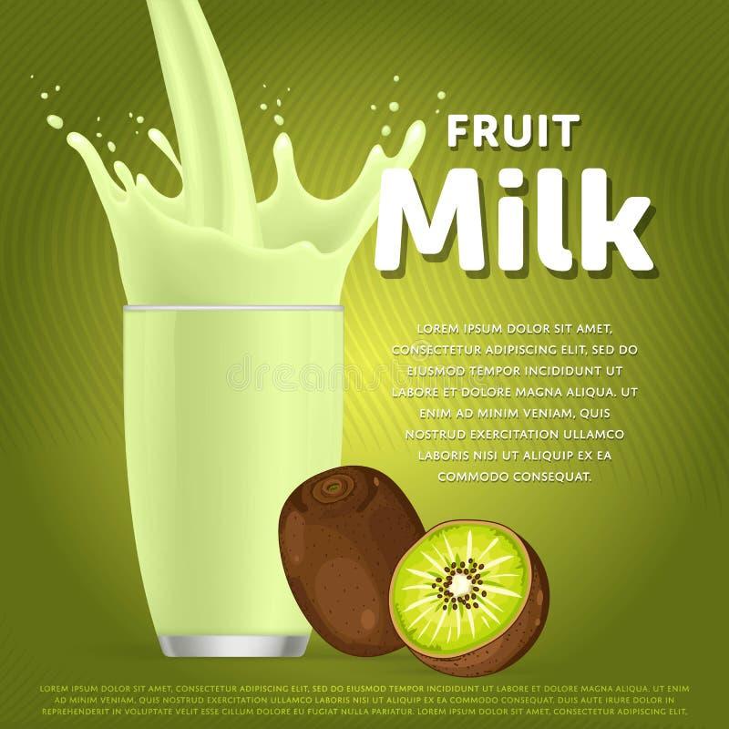 Free Kiwi Sweet Milkshake Dessert Cocktail Royalty Free Stock Images - 74787159