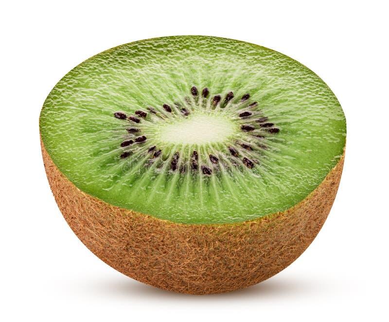 Kiwi tagliato a metà fotografie stock