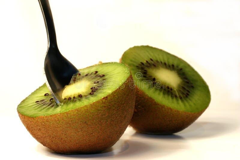 Kiwi - tout préparé image libre de droits