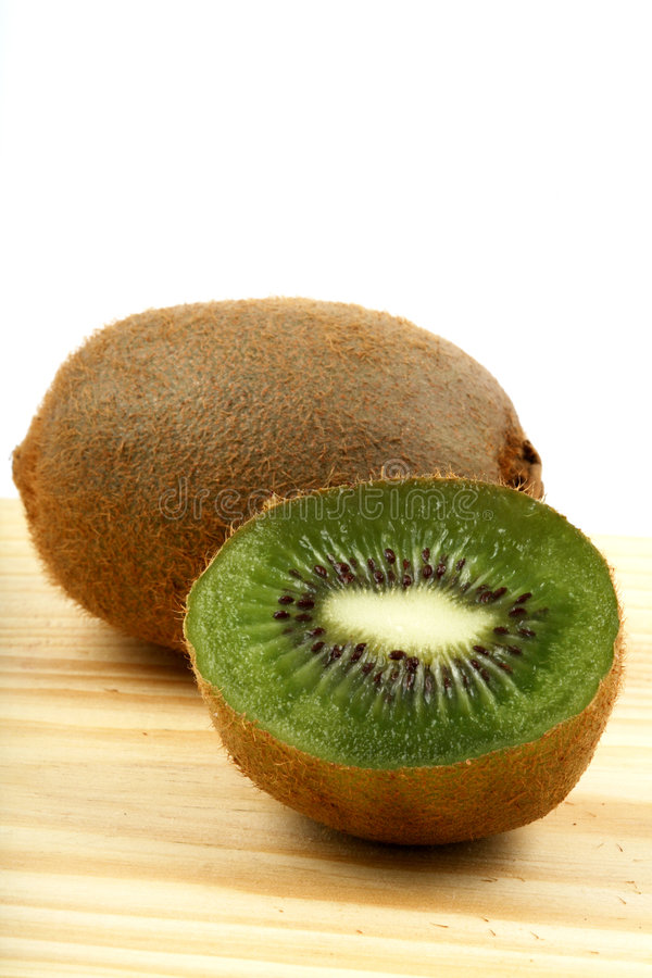 Kiwi vertical photographie stock