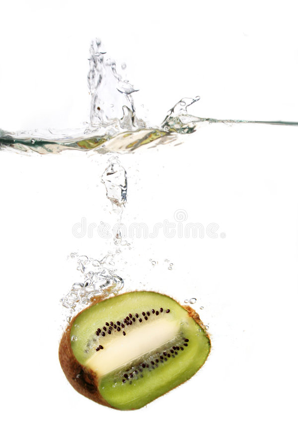 Download Kiwi in water stock image. Image of cold, dynamic, energy - 2285077