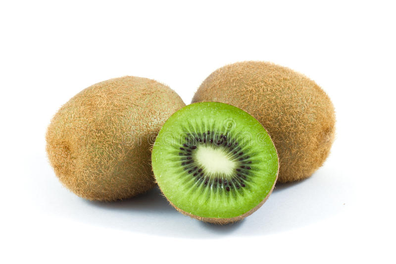 Download Kiwi on white stock image. Image of center, object, refreshment - 39507607