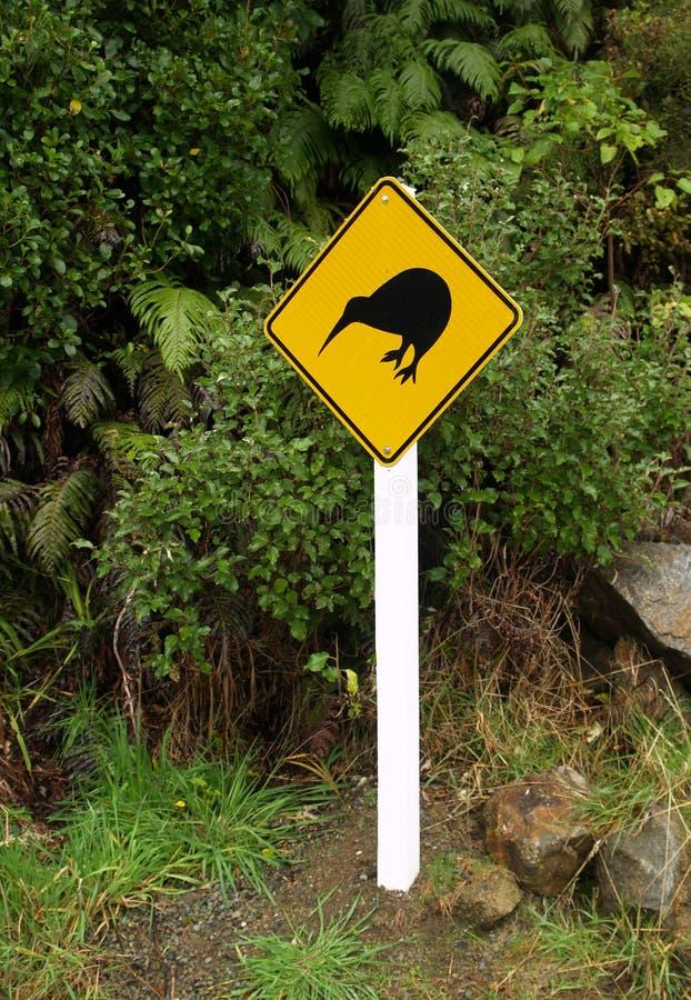 Kiwi znak fotografia stock